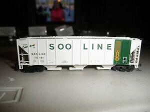Soo Line - Grain Logo   PS 4427 Covered Hopper # 70191