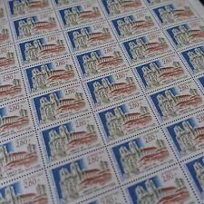 FEUILLE SHEET SELLO ABADÍA DE LA SILLA DIOS Nº2825 x50 1993 NEUF LUXE MNH