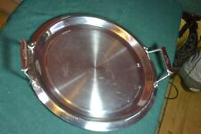 All-Clad 12 in. griddle pan; 3-ply alum in stainless steel VGC