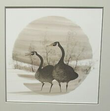 "P.BUCKLEY MOSS ""DAWN VISITORS"" LIMITED EDITION HAND SIGNED COLOR LITHOGRAPH"