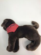 Douglas black Labrador Lab Dog Puppy Plush  Stuffed Animal LL Bean Bandana