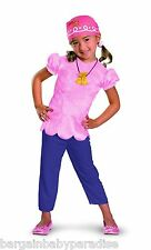 NWT Izzy from Jake and the Neverland Pirates Toddler Costume Small Girls 2T
