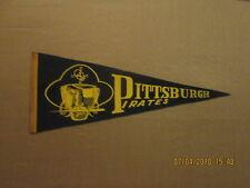 MLB Pittsburgh Pirates Vintage Knife & Skull Circa 1960's Logo Baseball Pennant