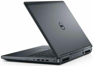 """DELL Business Laptop Intel Quad Core I7 6820HQ 17"""" 8 - 64 GB RAM 256GB - 4TB SSD"""