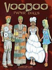 Cut-Out Paper Dolls: VOODOO! 5 dolls, Louisiana bayou swampy scene, information