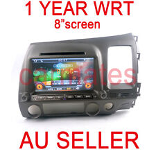 GPS for HONDA CIVIC 07-11 8Th NAVIGATION DVD TV IPOD MP4 AUX NEW MAP 1YEAR WRT