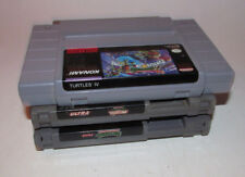 Teenage Mutant Ninja Turtles II & IV 2 4 Turtles in Time Super Nintendo SNES NES