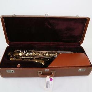 Selmer Paris Mark VI Tenor Saxophone SN 111075 ORIGINAL LACQUER! GORGEOUS!