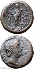 ANCIENT GREEK COIN AE MARATHOS PHOENICIA 169-168 BC PTOLEMY BUST VI , MARATHOS