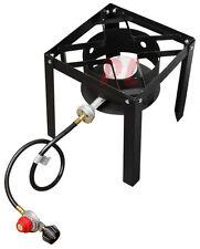 Propane Portable Gas Stove Burner Cooker High Pressure UL Regulator 5 PSIG