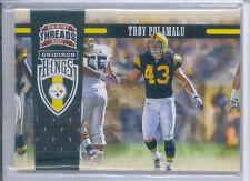 2011 Panini Threads Troy Polamalu Gridiron Kings Jersey card #45 209/299