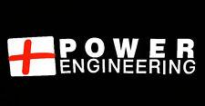 New Power Engineering Auto Truck Car Bumper Window Vinyl Decal Graphic Stickers