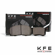Premium Ceramic Disc Brake Pad FRONT + REAR NEW Set With Shims KFE787 KFE537