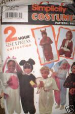 Vintage Simplicity Pattern Toddler Santa Bunny Costume