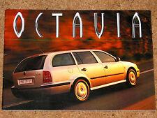 1998 Skoda Octavia Estate Folleto-Glx Slx 1.8 20v, 1.6 Mpi, 1.9 TDI
