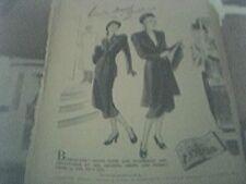 newspaper advert 1947 - burlacade coats burlington street