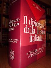 Il Dizionario della lingua italiana - DEVOTO Giacomo e Gian Carlo Oli  -  1990