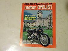JANUARY 1970 MOTORCYCLIST MAGAZINE,NORTON 750 COMMANDO,OSSA 250 STILETTO,70 KAWA