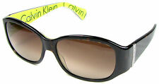 CK CALVIN KLEIN Logo Sunglasses 794/S 146, Tortoise Brown/ Fade Lenses, NICE!
