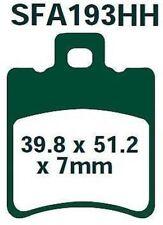 EBC plaquette de frein sfa193hh avant yamaha y 100 AEROX 100 00-04
