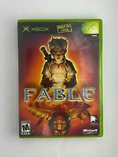 Fable Original Xbox Game w/ case ship out fast very good
