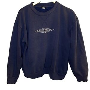 Navy Umbro Sweatshirt Size Large Unisex