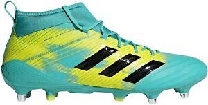 Adidas Predator Flare SG soft ground mens Rugby Boots AC7732 uk 12.5 , 13