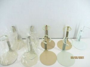 """9 doll stand metal Narco coated 3 3/4"""" un-extended wire 4 new 3 used + Tallina +"""