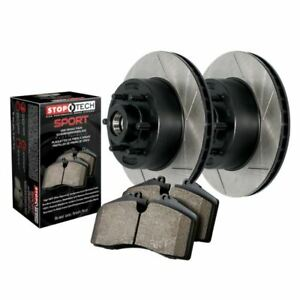 Stoptech Truck Axle Pack Brake Kit, Slotted, Front - 970.66015