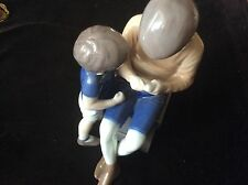 """B&G (Royal Copenhagen) Figurine # 1648 """"Tom & Willy"""", 7.5�, Denmark, Mint, Rare!"""