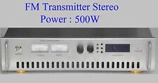 750W Hybrid FM Stereo Broadcast Transmitter 87.5-108 Mhz , Compact Mode