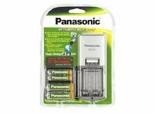 Panasonic BQ-321, Rechargeable Battery and Charger Kit with 4 AA Ni-MH Batteries