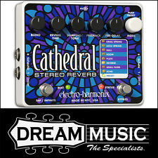 Electro Harmonix EHX Cathedral Stereo Reverb Guitar Effects FX Pedal RRP$599