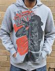 NWT Lil Wayne Young Money YMCMB Hip Hop Urban Zip Up Hoodie in Grey