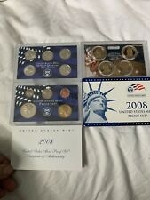2008 United States Mint Proof Set With COA! 14 Coins All Together! Great Coins!