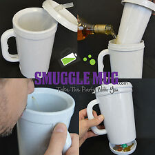 Smuggle Mug Hidden Flask 12 oz stealth flask!!