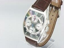 FRANCK MULLER CHRONO BANKER LIMITED EDITION 18K WHITE GOLD GENTS WATCH 7850CC MB