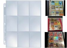 Baseball Pokemon Cards Organizing Sheets Pack Of 25 Pages Per 9 Card Slots