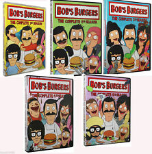 NEW! Bob's Burgers TV Series Complete Series 1-5 1 2 3 4 5 DVD Set Free Shipping