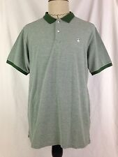 Knowledge Cotton Apparel Polo Shirt Mens XL Sz Green 100% Cotton Golf 10369 New