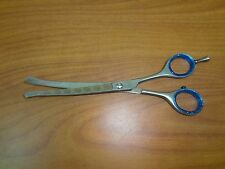 """Professional Dog Grooming Scissors Shears 6.5"""" Face Paw Curved Japanese S.Steel"""