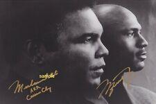 4x6 OR 8x10 SIGNED AUTOGRAPH PHOTO REPRINT of Michael Jordan and Muhammad Ali