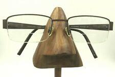 Morel France Lightec 6756L MM002 Brown Metallic Rectangle Eyeglasses Frames