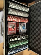 More details for poker set 300 chips set with carry case