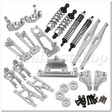 RC1:10 Off Road Car Aluminum Alloy Upgrade for WL-K949 Pack of 11 Parts Silver