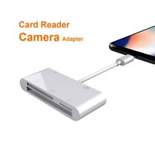 SD TF CF Card Reader For iphone XS MAX XR 5 6 7 8 iPad USB Camera Connection Kit