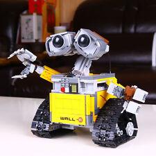 New Robot WALL E Model Building Kits Minifigure Blocks Bricks Toys 16003