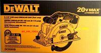 NEW IN RETAIL BOX Dewalt DCS391B 20V Cordless Battery Circular Saw 20 volt