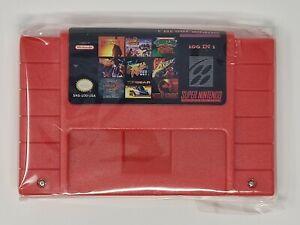 100 In 1 Super Game Cartridge 16-Bit Multicart NTSC SNES For Super Nintendo *NEW