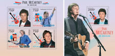 Paul Mccartney The Beatles Music Togo MNH Juego de Sellos